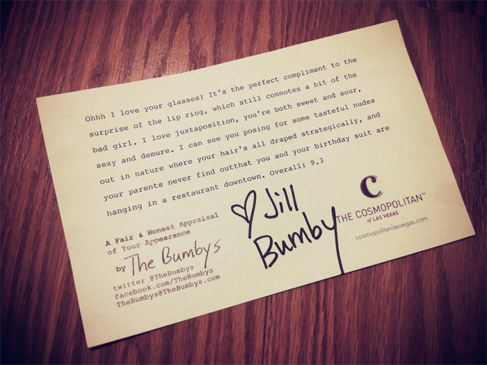 a fair and honest appraisal of your appearance - the bumbys