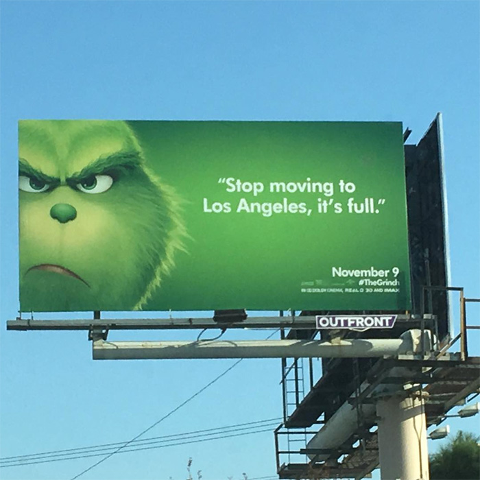 the grinch movie los angeles
