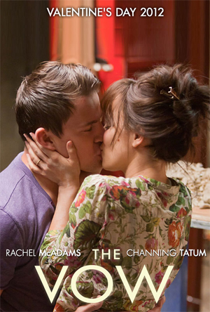the vow movie poster - channing tatum rachel mcadams