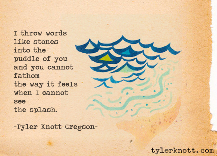 tyler knott gregson typewriter series
