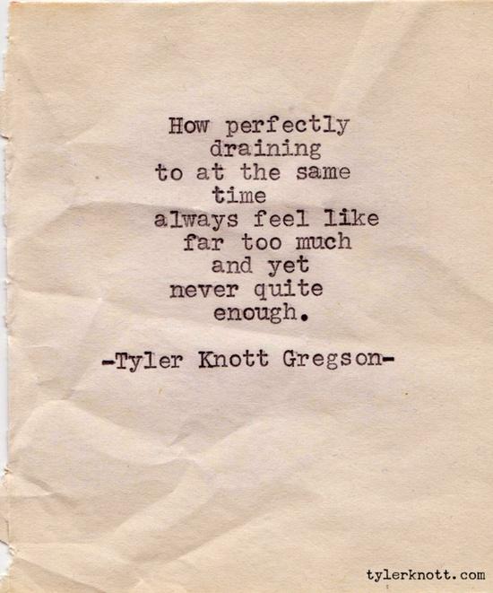 typewriterseries #42 - tyler knott gregson
