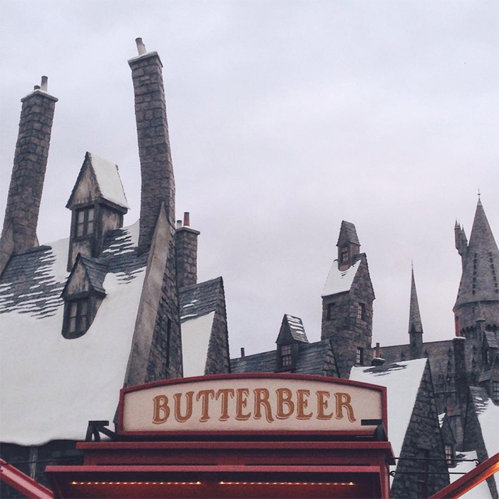 wizarding world of harry potter - universal studios hollywood - butterbeer