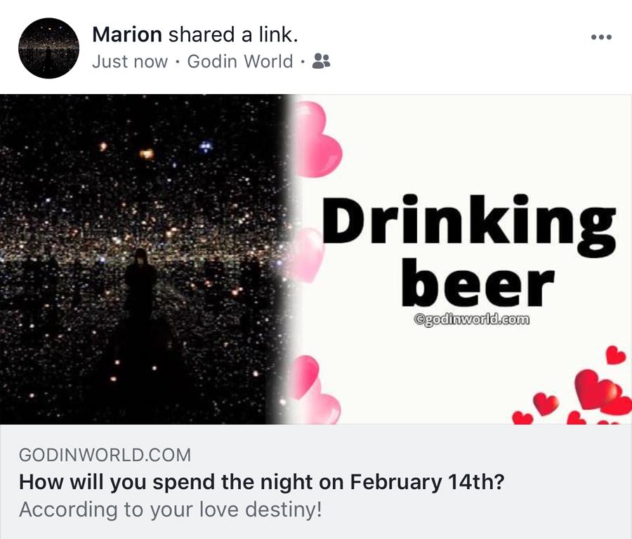 valentine's day plans