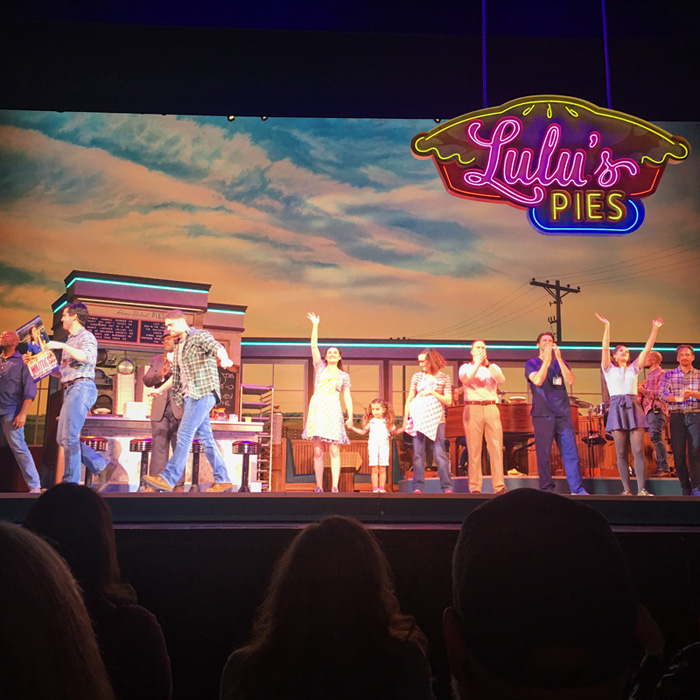 waitress musical - lulu's pies