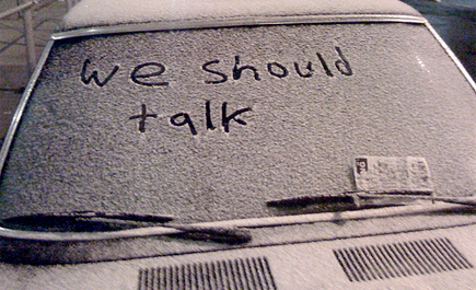 we should talk