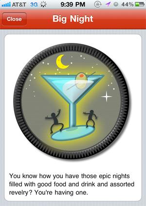 yelp big night badge