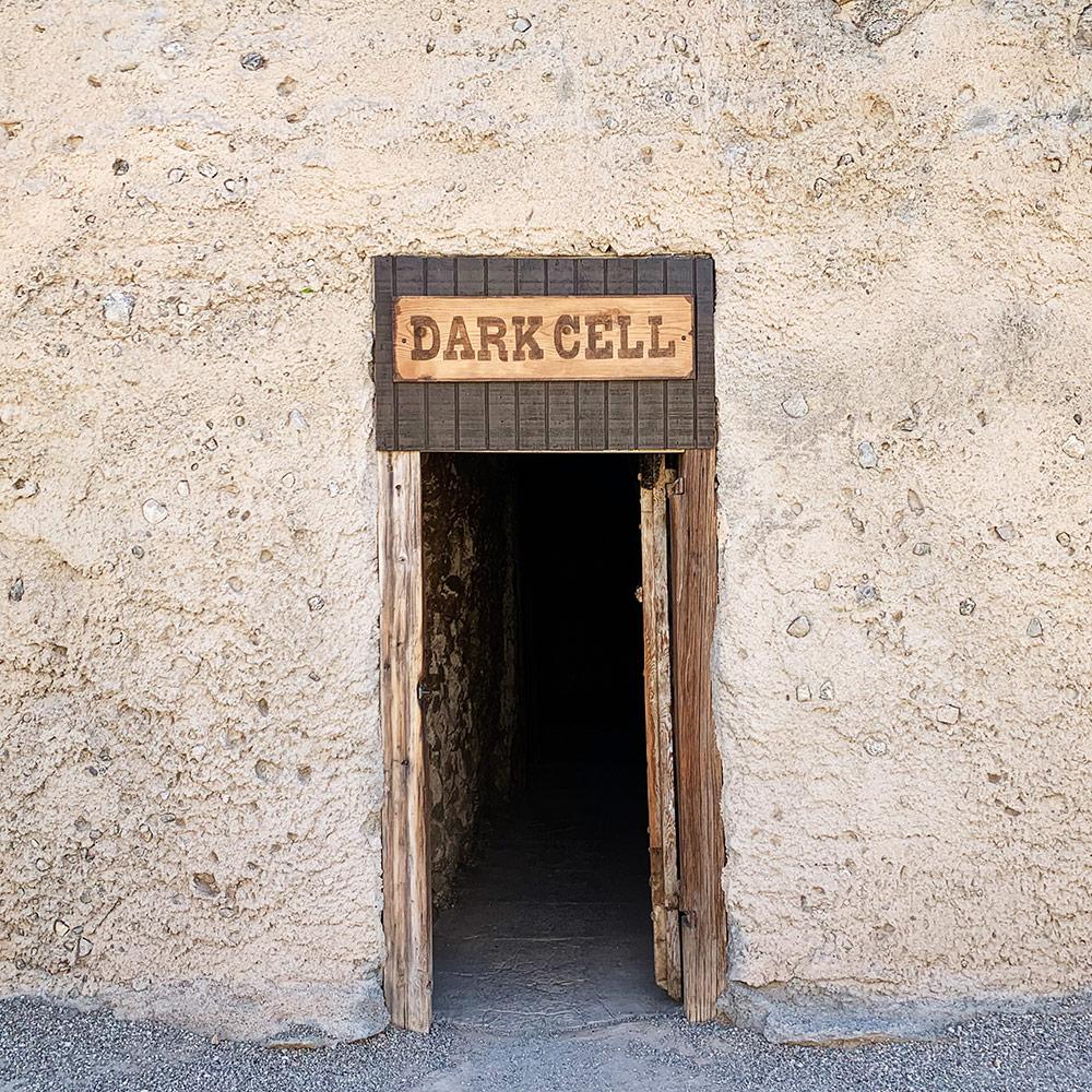 yuma prison dark cell